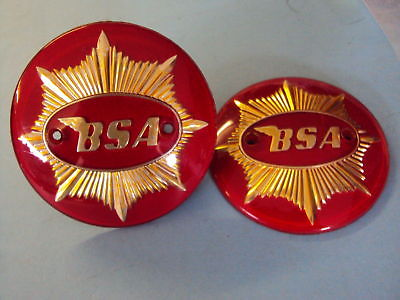 Bsa Tank Badges 4 Goldstar Rocket Goldstar 1 Pair